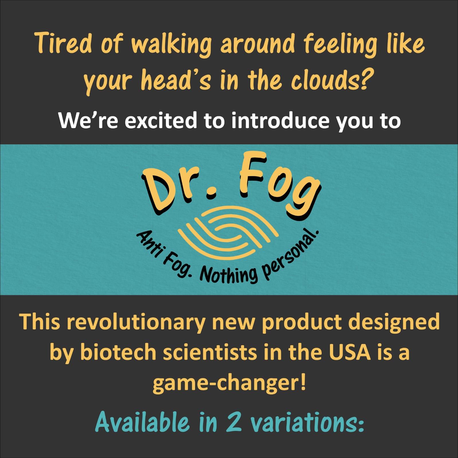 Dr Fog Anti-fogging Products